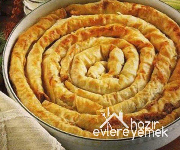 Tepsi Kol Böreği Ispanaklı