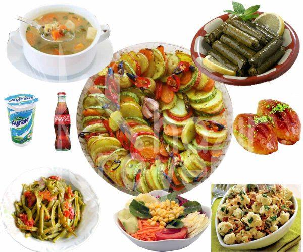Vejeteryan İftar Yemek Menüsü